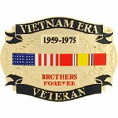 Eagle Emblems B0138 Buckle-Vietnam Era Vet (3-1/4