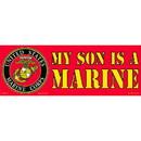 "Eagle Emblems BUMP-USMC, MY SON IS A MAR (3""X9"")"