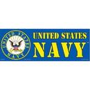 "Eagle Emblems BUMP-USN (3""X9"")"