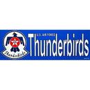 "Eagle Emblems BUMP-USAF, THUNDERBIRDS (3""X9"")"