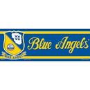 """Eagle Emblems BUMP-USN, BLUE ANGELS (3""""X9"""")"""