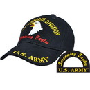 Eagle Emblems CAP-ARMY, 101ST A/B SCREAM BLACK/BRASS-BUCKLE