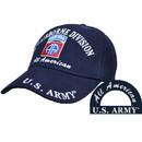Eagle Emblems CAP-ARMY, 82ND A/B BLACK/BRASS-BUCKLE