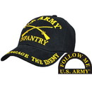 Eagle Emblems CP00115 Cap-Army, Infantry (Brass Buckle)