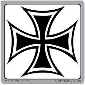 "Eagle Emblems DEC-IRON CROSS (3-1/4"")"
