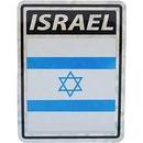 """Eagle Emblems DEC-ISRAEL (3""""X4"""")"""