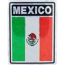 """Eagle Emblems DEC-MEXICO (3""""X4"""")"""