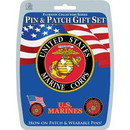 "Eagle Emblems DISP-USMC (PIN & PATCH SET) (6""X6"")"
