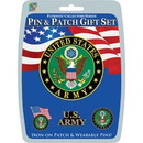 "Eagle Emblems DISP-US ARMY (PIN & PATCH SET) (6""X6"")"