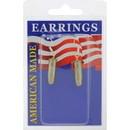 Eagle Emblems ER9644 Earrings-Bullet, 25Cal (Nickel)