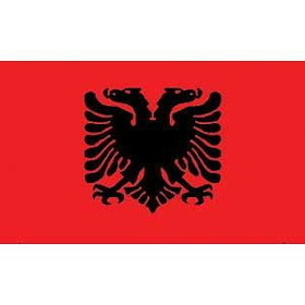 Eagle Emblems FLAG-ALBANIA (3ftx5ft)