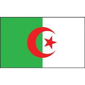 Eagle Emblems FLAG-ALGERIA (3ftx5ft)