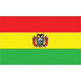 Eagle Emblems FLAG-BOLIVIA (3ftx5ft)