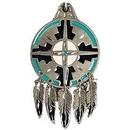 Eagle Emblems KC2582 Key Ring-Natv, Medicine Zinc-Pwt (1-1/2
