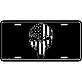 Eagle Emblems LIC-SKULL & BONES/PIRATE