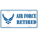Eagle Emblems LP0518 Lic-Usaf Emblem Retired (6