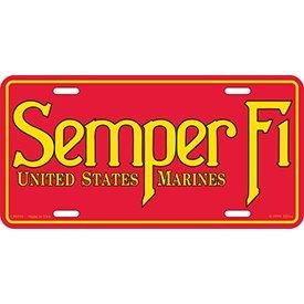 Eagle Emblems LIC-USMC, SEMPER FI