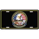 Eagle Emblems LP0611 Lic-American Warriors (6