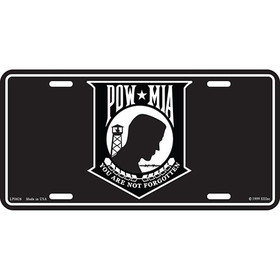 Eagle Emblems LIC-POW*MIA, WHITE
