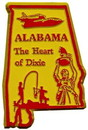 Eagle Emblems MG0001 Magnet-Sta, Alabama Approx.2 Inch