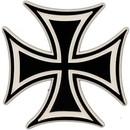 Eagle Emblems MG1453 Magnet-Iron Cross (2-5/8