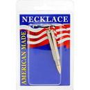 Eagle Emblems NC9464 Necklace-Bullet, 223 (Nickel)