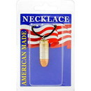Eagle Emblems NC9486 Necklace-Bullet, 45Cal (Nickel)