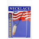 Eagle Emblems NC9489 Necklace-Bullet, 9Mm (Nickel)
