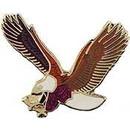 Eagle Emblems P00199 Pin-Eagle, Flying (1