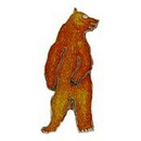 "Eagle Emblems PIN-BEAR, BROWN, STANDING (1"")"