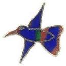 """Eagle Emblems PIN-BIRD, HUMMINGBIRD  (1""""), P00207"""