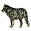 "Eagle Emblems PIN-WOLF  (1"")"
