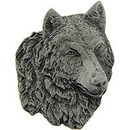 "Eagle Emblems PIN-WOLF, PEWTER  (1"")"
