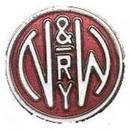 "Eagle Emblems PIN-RR, N&W RAILROAD  (1"")"