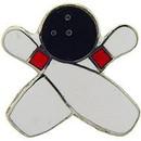 """Eagle Emblems PIN-BOWL, PINS CROSS (1"""")"""