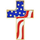 "Eagle Emblems PIN-ORG, JESUS, LOVES YOU (1"")"