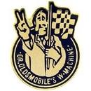 """Eagle Emblems PIN-CAR, OLDS, LOGO, W.MACH (1"""")"""