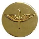 Eagle Emblems P10426 Pin-Army, Enl, Aviation (Gld) (1-1/16