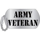 Eagle Emblems P12011 Pin-Army, Veteran