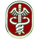 "Eagle Emblems PIN-ARMY, MEDIC, USA HEALTH  (1"")"