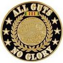 Eagle Emblems P15286 Pin-Viet, All Guts No Glry (1