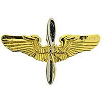 "Eagle Emblems WING-ARMY, AVIATOR, EARLY- (MINI) (1-3/8"")"