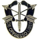 "Eagle Emblems PIN-SPEC, DE OPPRESSO  (1-1/2"")"