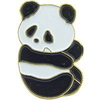 "Eagle Emblems PIN-BEAR, PANDA  (1"")"
