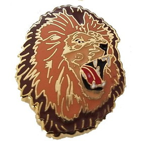"Eagle Emblems PIN-CAT, LION, ANIMATED  (1"")"