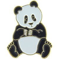 "Eagle Emblems PIN-BEAR, PANDA TEDDY  (1"")"