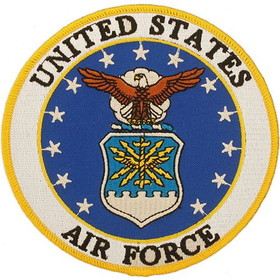 """Eagle Emblems PATCH-USAF LOGO  (3"""")"""