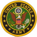 "Eagle Emblems PATCH-ARMY LOGO  (3"")"