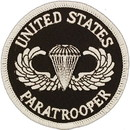 "Eagle Emblems PATCH-ARMY, PARA, LOGO  (3"")"