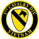 "Eagle Emblems PATCH-VIETNAM, 001ST CAV.  (3"")"